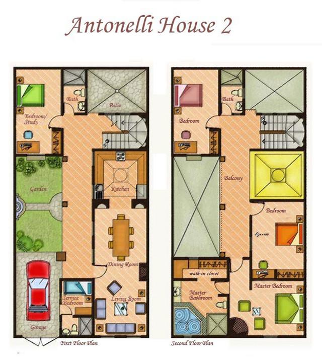 Perfect House 2 Floor Plan
