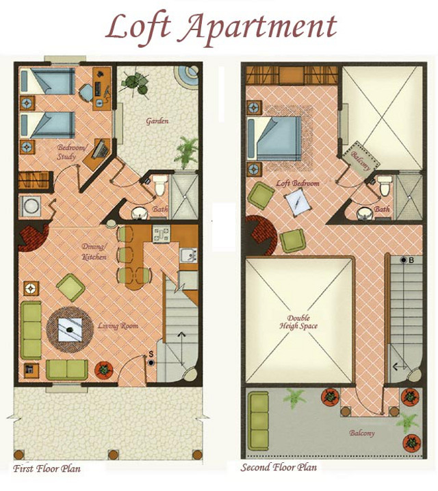 Loft apartment floor plan the image kid for Plan de loft
